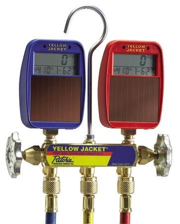 Series 41 Manifold with Solar Gauges