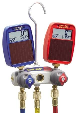 Titan 2-Valve Manifold with Solar Gauges