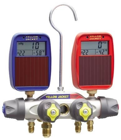 Titan 4-Valve Manifold with Solar Gauges