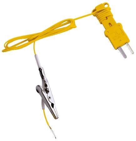 K-Type Thermocouple with Alligator Clip
