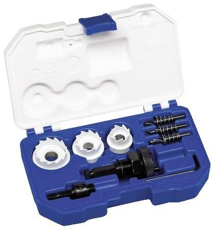 Carbide Hole Cutter Kit