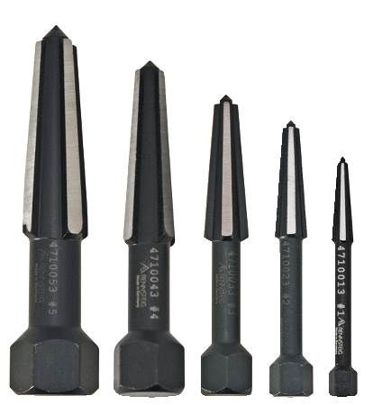 5-Piece Screw Extractor Set