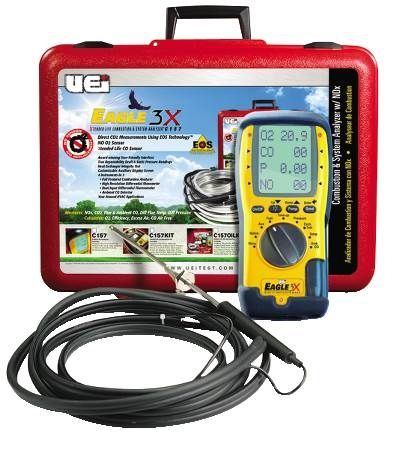 Eagle Series Combustion Analyzer with NOX