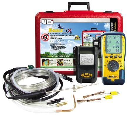 Eagle Series Combustion Analyzer Kit with NOX