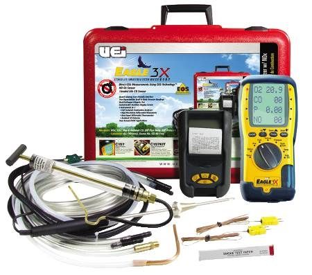 Eagle Series Combustion Analyzer Oil Kit with NOX