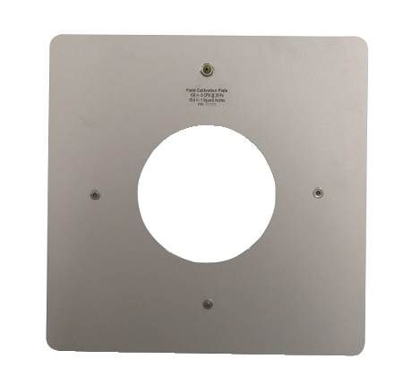 Verification Plate for DU200 DucTester