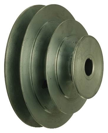 "Die Cast ""V"" Step Cone Pulley For 4L or ""A"" Belts"