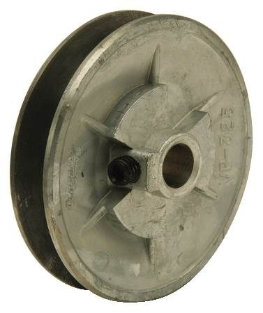 "Variable Pitch Die Cast Pulley For 3L, 4L, 5L, ""A"" and ""B"" Belts"