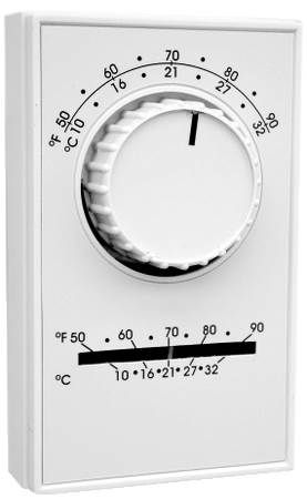 Line Voltage Cooling Thermostat For Evaporative Coolers