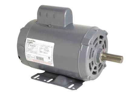 Capacitor Start General Purpose Motor Open Dripproof, Rigid Base