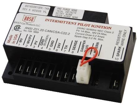 Intermittent Pilot Ignition Control