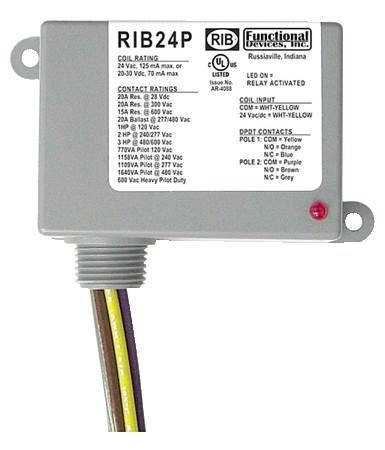 Enclosed Power Relay