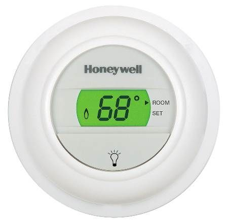 Digital Round® Electronic Non-Programmable Thermostat
