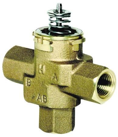 VCZN Three-Way Cartridge Cage Valve