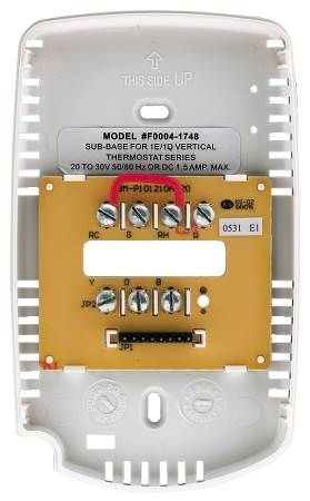 Subbase for New Construction Thermostat