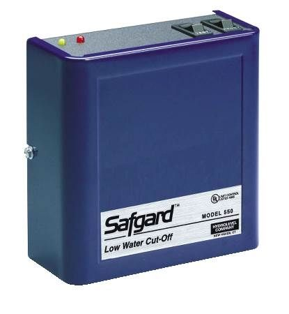 SafGard Low Water Cut-Off For Hot Water Boilers