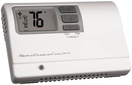 SimpleComfort Pro Series Electronic Programmable Thermostat