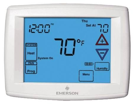 "Blue™ 12"" Touchscreen Thermostat"