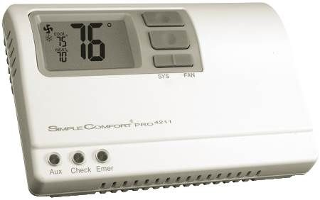 Electronic Non-Programmable Thermostat