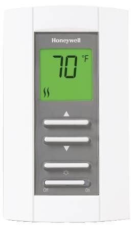 Low Volt Electronic Thermostat — Ambient and Floor Heating Electric (Ambient) Heating and Floor Heating