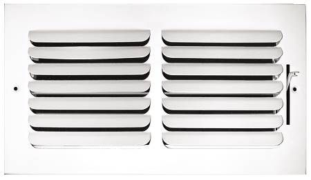 Stamped Curved Blade Sidewall/Ceiling registers