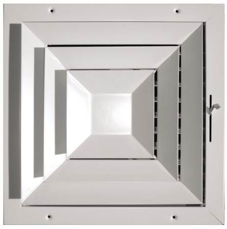 Square Ceiling Directional Diffuser
