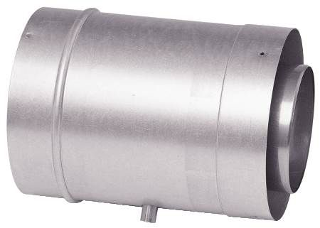 "3"" Single Wall Corrguard Value Stainless Steel Tee"