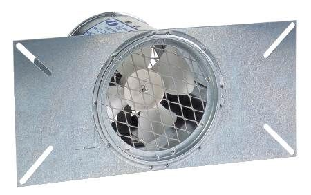 Eliminator™ Foundation Vent Fan Eliminates Moisture in Crawl Spaces