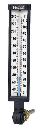 Industrial Glass Vari-Angle® Thermometer