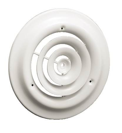 16 Round Ceiling Diffusers 08 W