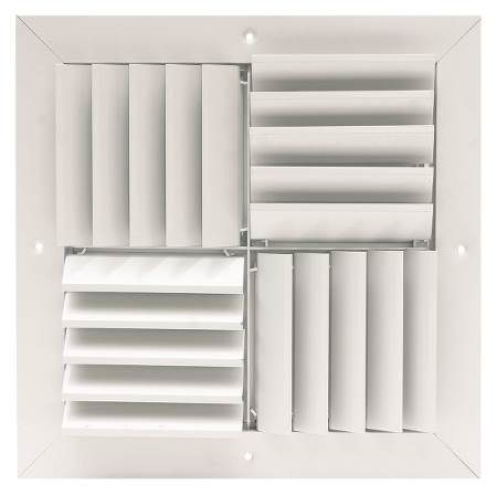 Commercial Adjustable Modular Diffusers 12 12 W