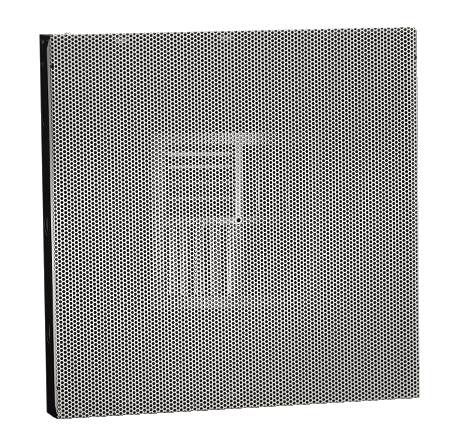 Commercial T-Bar Flat Back Perforated Diffusers
