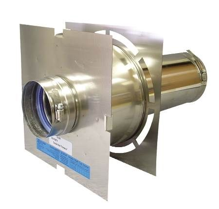 Double-Wall Stainless Steel Vent Piping FasNSeal® AL29-4C Direct Vent Systems