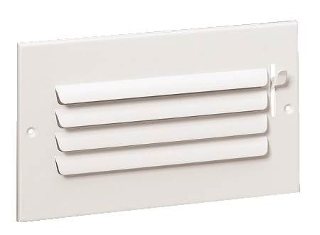 301 Curved Blade Sidewall/Ceiling Registers 10 08 W