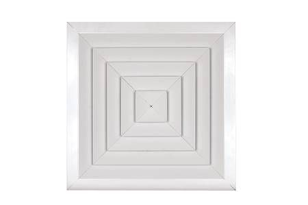 Commercial Variable Pattern Ceiling Diffuser With Opposed Blade Damper
