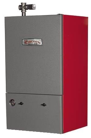 Bimini Gas Fired Hot Water Boiler Condensing, High Efficiency, Direct Spark