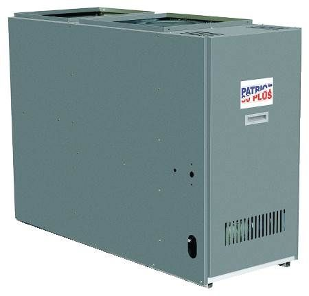 Direct Drive Oil Furnace Lowboy Rear Flue Model