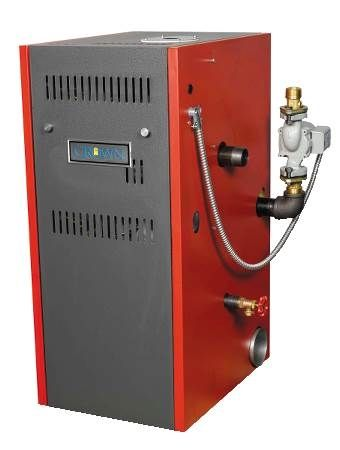 Cabo 2 Gas Fired Hot Water Boiler CWD Series, Sealed Combustion, Direct Spark Ignition, 85% AFUE