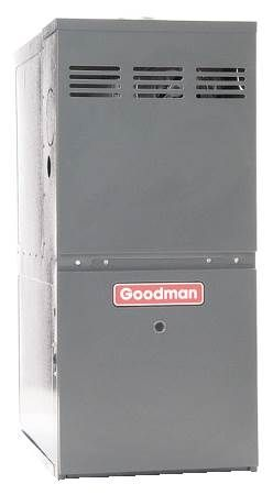 80% AFUE Upflow Gas Furnace GMS8 Series, Single-Stage, Multi-Speed