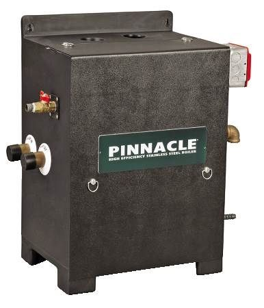 Pinnacle Gas Fired Hot Water Boiler Stainless Steel, Sealed Combustion, Direct Vent