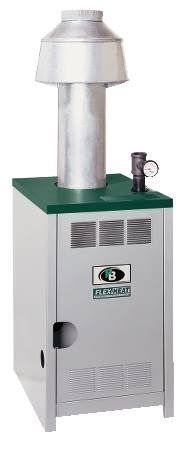GM Series Gas Fired Hot Water Boiler Commercial, Cast Iron, Atmospheric Gas