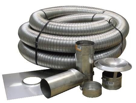 Stainless Steel Chimney Liner Kits