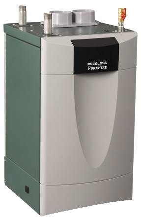 PUREFIRE® Gas Forced Hot Water Boiler Condensing, Stainless Steel, Sealed Combustion