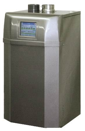 Gas Fired Hot Water Boiler Trinity Lx Series, Condensing, Ultra High Efficiency