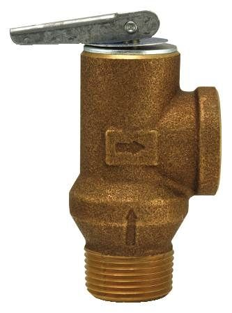 3/4 IN Poppet Type Pressure Relief Valve with Test Lever