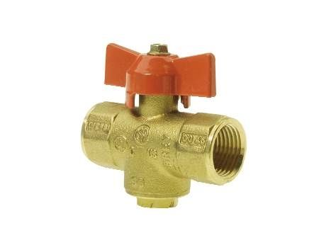 1/2 IN Ball Valve for Gas with NPT Female Connections