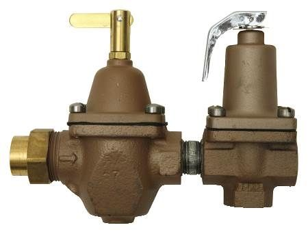 1/2 IN High Capacity Water Feed Regulator For Boilers