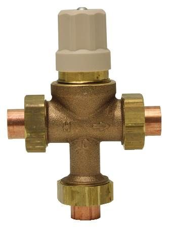 1 IN Lead Free Thermostatic Mixing Valve with Threaded End Connections A.S.S.E. 1016 Listed