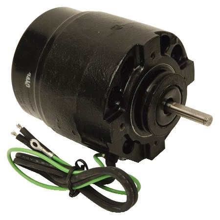 Unit Bearing Fan Motor 1550 RPM, GE 11-Frame Shaded Pole Replacements