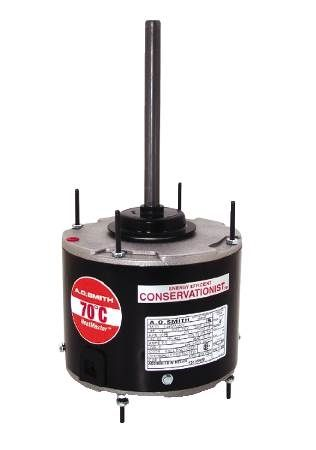 HeatMaster™ High Temperature Condenser Fan Motor 70°C Ambient, Three-Year Warranty